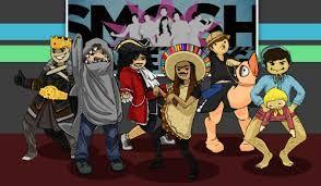 smosh games my heroes