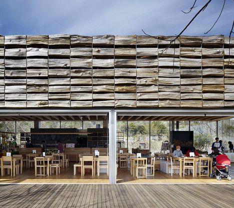 Mass Studies adds three pavilions to Korean tea museum