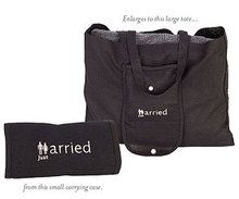 """Just Married"" Tote Bag"