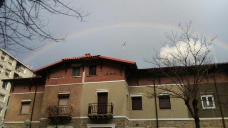 El arcoiris es un whatsapp del cielo