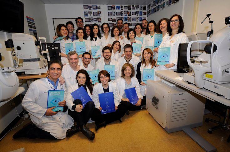 Los oftalmólogos del Hospital Mancha Centro #peritic CarmenOlmedo