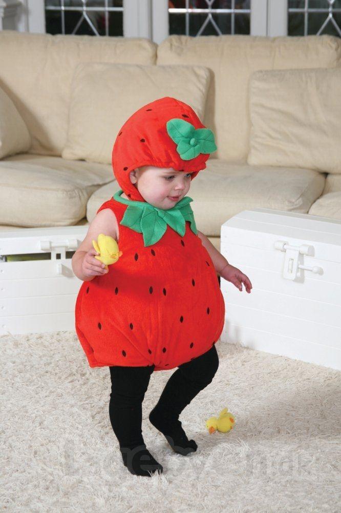 Køb Udklædning - Jordbær - 6-12 måneder. online - Udklædning og Rolleleg