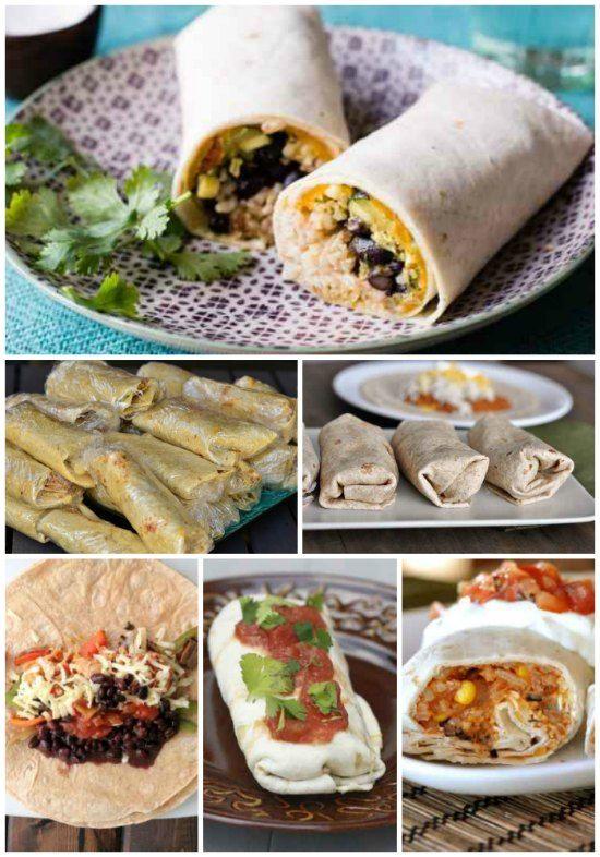 18 Delicious Recipes For Homemade Freezer Burritos