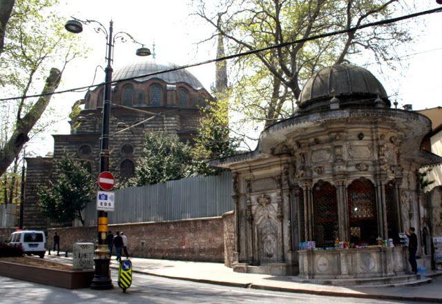 Zeynep sultan cami ve sebili, İstanbul.