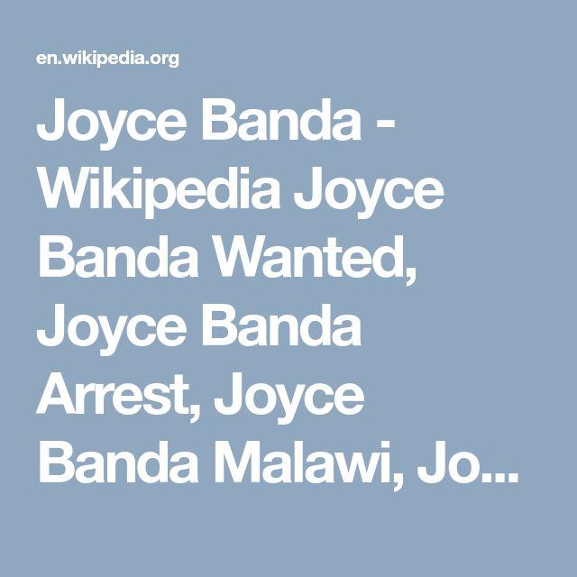 Joyce Banda - Wikipedia Joyce Banda Wanted, Joyce Banda Arrest, Joyce Banda Malawi, Joyce Banda, Malawi President Joyce Banda, President Joyce Banda  #JoyceBandaWanted,  #JoyceBandaArrest, #JoyceBandaMalawi, #JoyceBanda, #MalawiPresidentJoyceBanda, #PresidentJoyceBanda