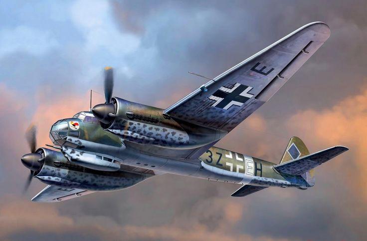 Junkers Ju 88A-14 (ICM box art)