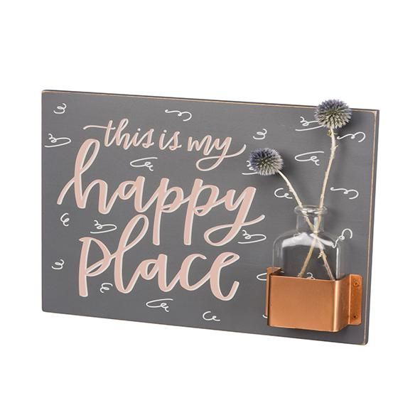 This Is My Happy Place Wall Art Vase Happy Places My Happy Place Picture Frame Wall