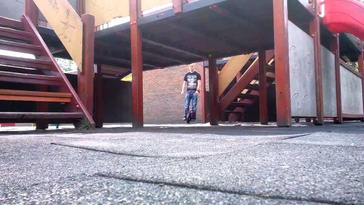 Airwheel x3 tricks