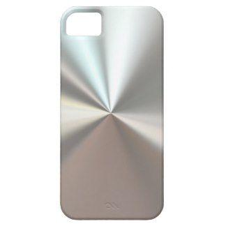 artistic silver metal iPhone 5 case