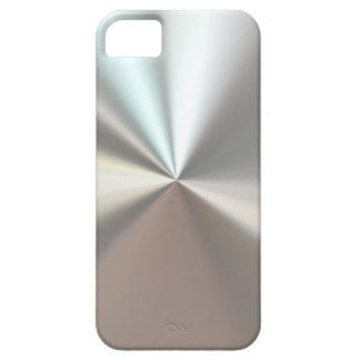 artistic silver metal iPhone 5 case
