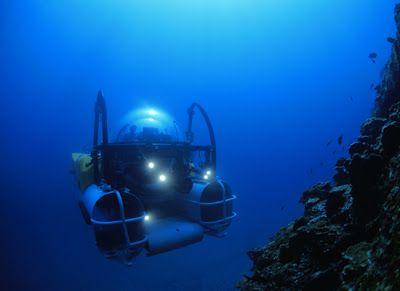 Deep sea exploration.