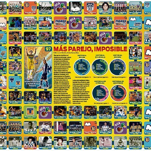 Monterrey-Tigres #infographic #illustration #design #artwork #digitalart #published #newspaper