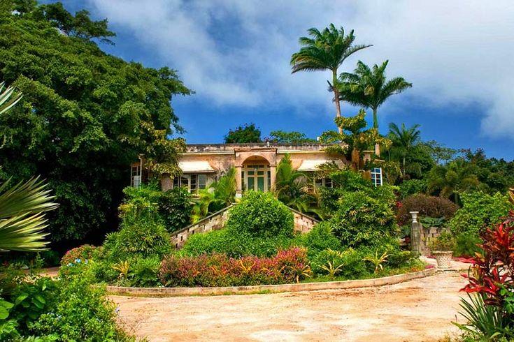 Hunte's Garden Barbados | Weather2Travel.com #travel #Caribbean #barbados