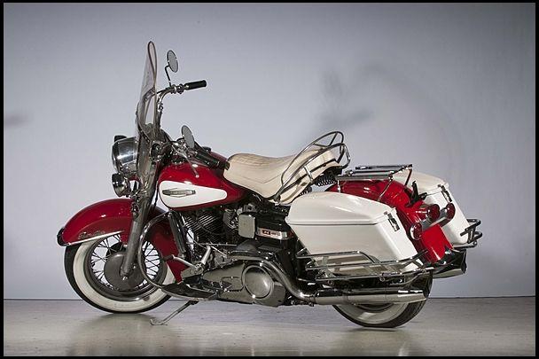 1966 #Harley-Davidson FLH Electra Glide offered by #Mecum