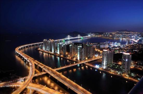 Busan (Pusan), South Korea--my birthplace.