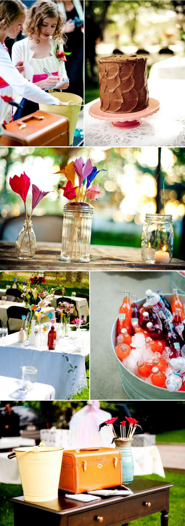 These Ideas are great for those who want a retro wedding