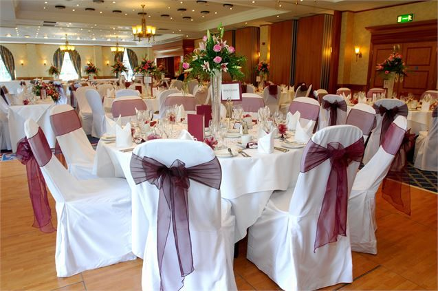 Leicestershire Suite, Quorn Country Hotel - Inspiration Gallery Wedding Venue Image