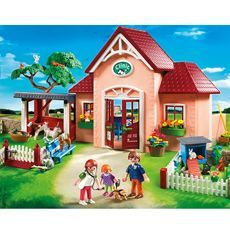 Nouveauté #Playmobil: la clinique vétérinaire avec animaux  - ref. 5529 à 74€95