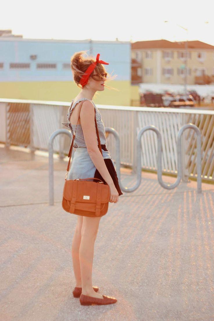 arco de volta camisa, forever 21 saia preta, nyc blogue vintage, praia de Rockaway
