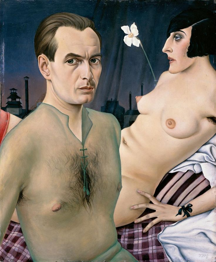 Christian Schad  German 1894-1982 Self-portrait 1927