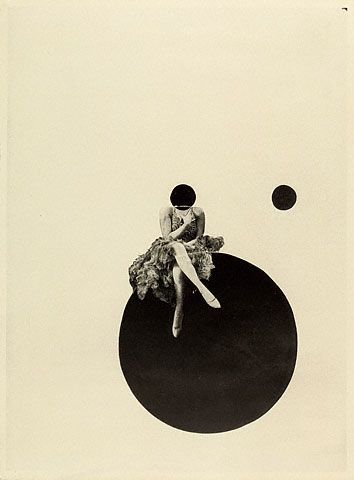 """""""The Olly and Dolly Sisters""""  László Moholy-Nagy   American, born Hungary, about 1925   Gelatin silver print. The title refers to the identical twin Dolly Sisters, Jenny and Rosie, who were a dance team popular in Europe and the United States from 1911 to 1927. They were renowned for both their beauty and their gambling prowess."""