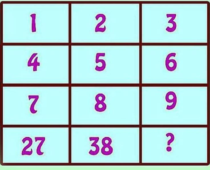 14 best Puzzles images on Pinterest | Brain games, Math challenge ...
