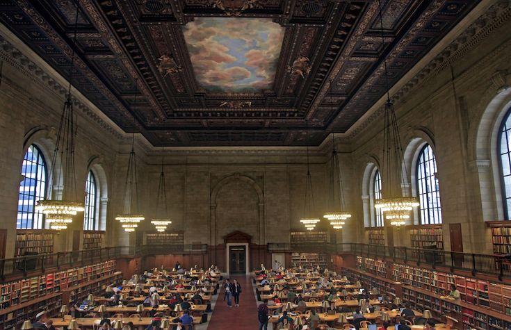 IlPost - New York Public Library, USA - New York Public Library, New York, USA  (AP Photo/Bebeto Matthews)