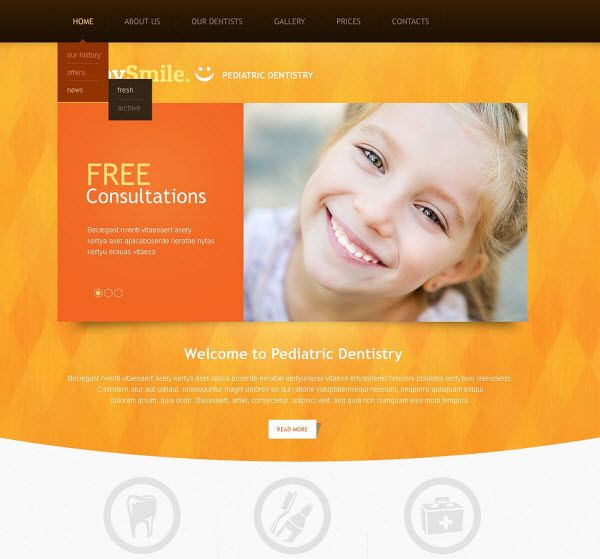 ready made website templates