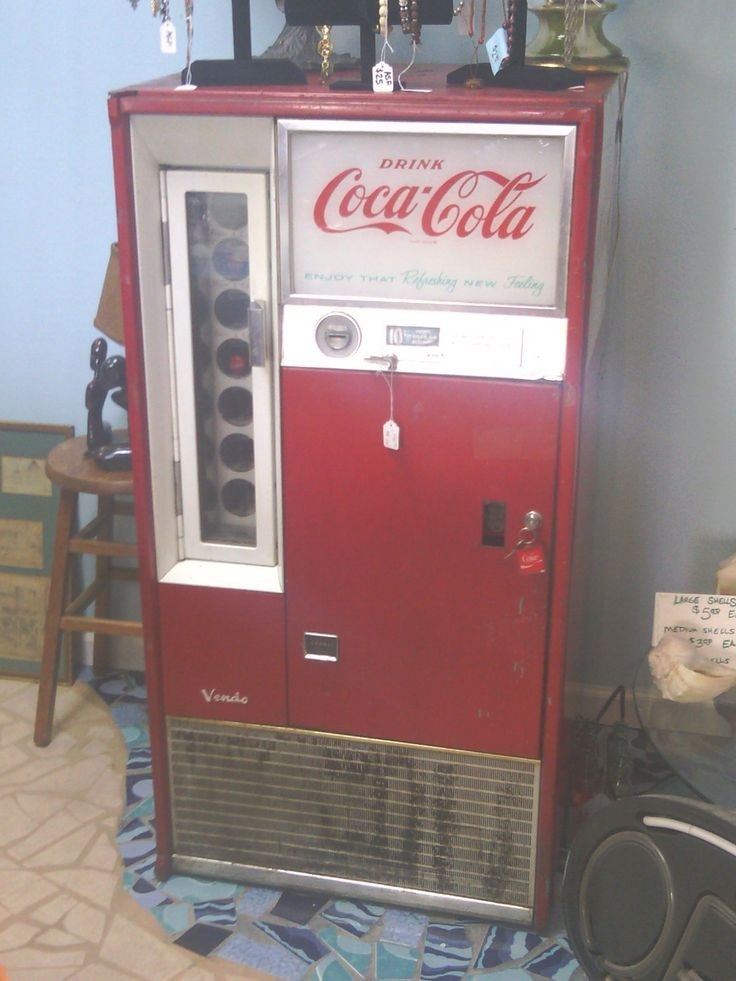 1964 coke machine pop only came in glass bottles they cost 10 to 15 cents you pulled. Black Bedroom Furniture Sets. Home Design Ideas