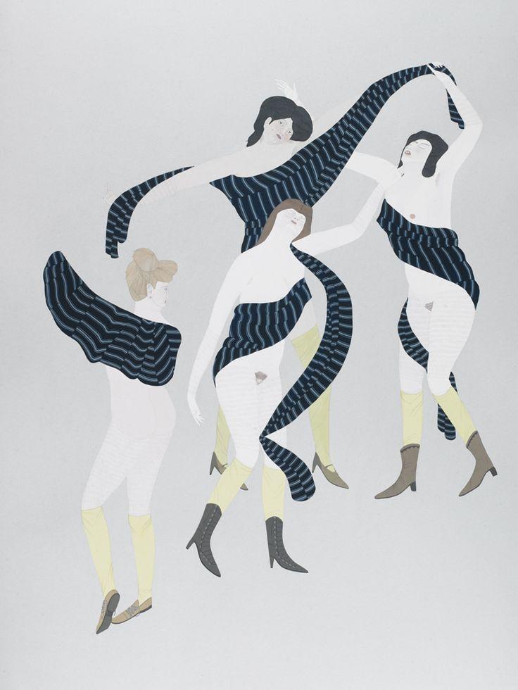Kushana Bush, The Dance After Matisse, 2012.