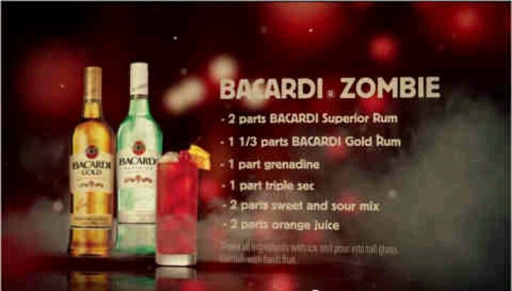 Bacardi Zombie