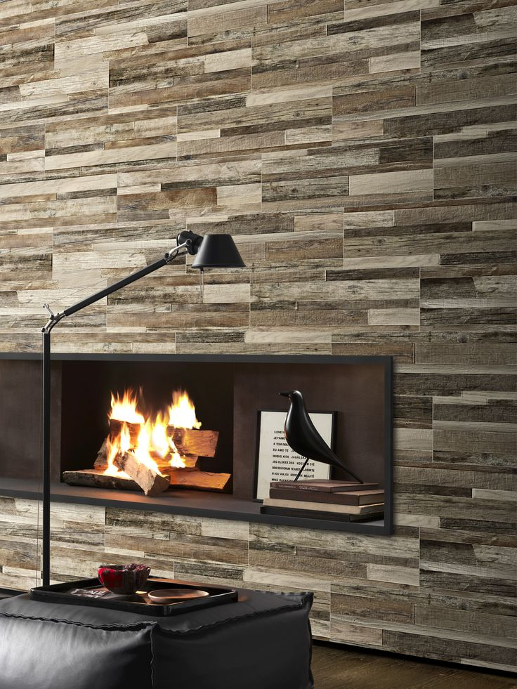 Pavé Wall Wood by Sichenia
