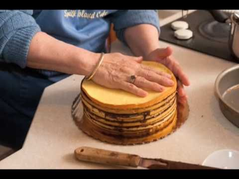 Video on making a Smith Island Cake