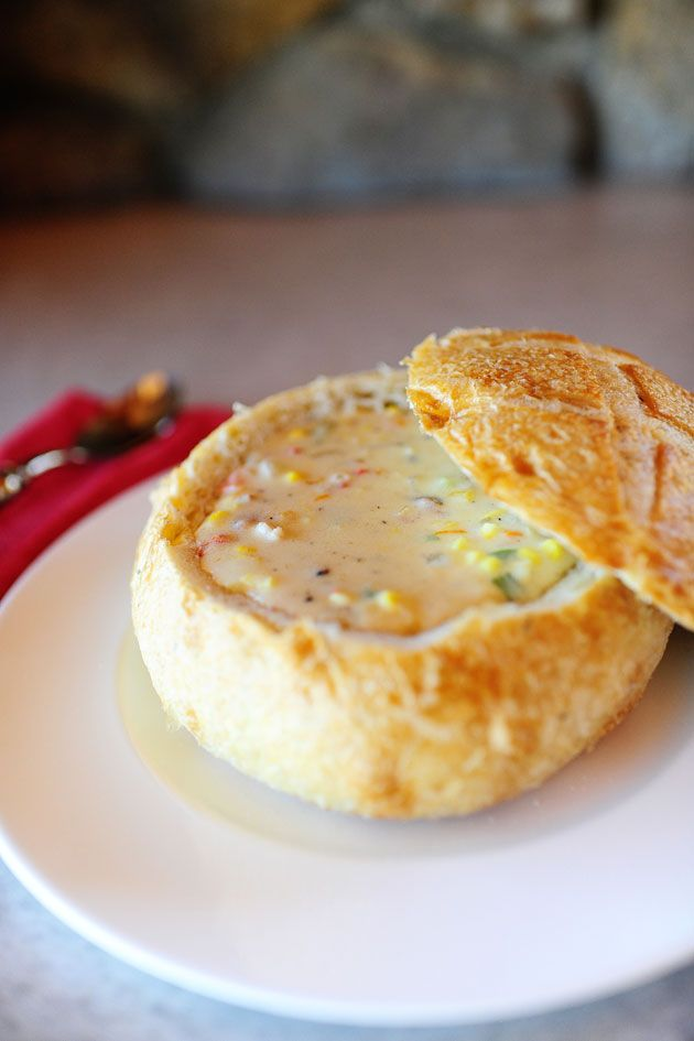 Corn & Cheese Chowder. Oh yes, please.