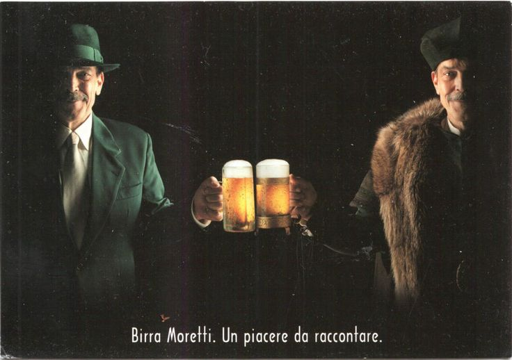 Cartolina  Postcard Birra Moretti  Promocard  pc 3718