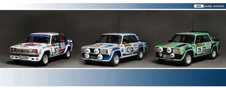 Group photo Lada VFTS  (1983 /1988 years)   scale 1/43 Price €62 + shipping.