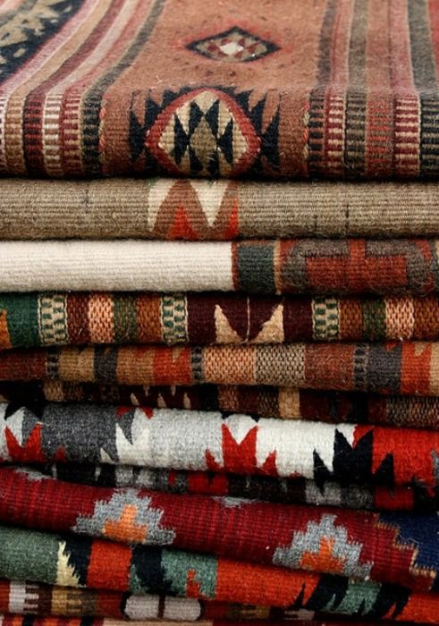 native american blankets are the coziest things ever and add a punch of color and fun patterns