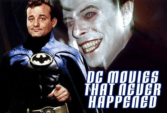 Some SDCC Batman v Superman news before we travel to alternate universes where Bill Murray was Batman, Joel Schumacher won back the trust of Batman fans with the help of Clint Eastwood, and Joss Whedon was Batman's master now! This is Part 1 of DC Movies That Never Happened! Beware Spoilers!