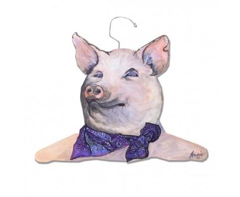 Jaunty Pig animal hanger @ hardtofind shop