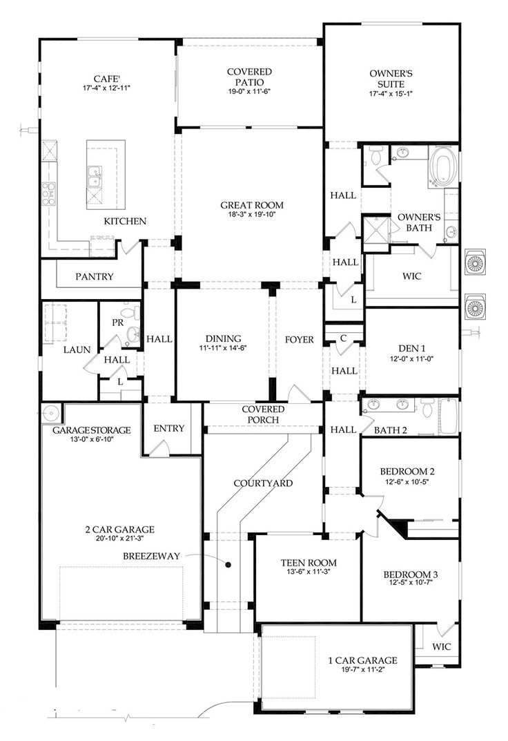 Pulte homes destiny floor plan Home design and style – Pulte Homes Ranch Floor Plans