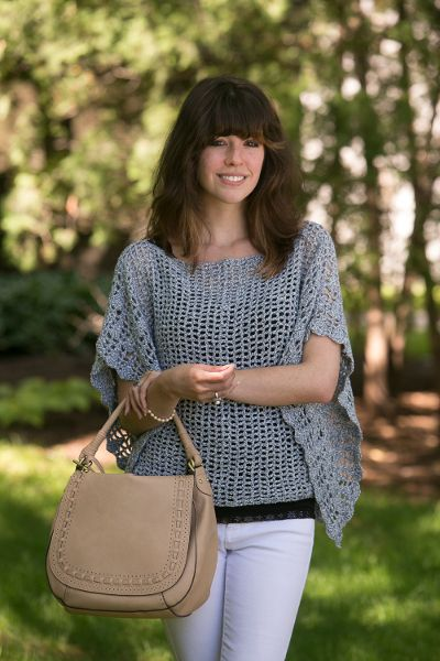 Lighter Than Air - Classic, elegant, airy — those are just a few of the words you could use to describe this lightweight top. From date nights to beach parties, you'll get plenty of wear out of this summer staple. From I Like Crochet's June 2014 issue