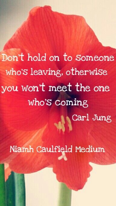 #letgo #newlove #leavethepast #welcomenewlove #carljung #niamhcaulfieldmedium