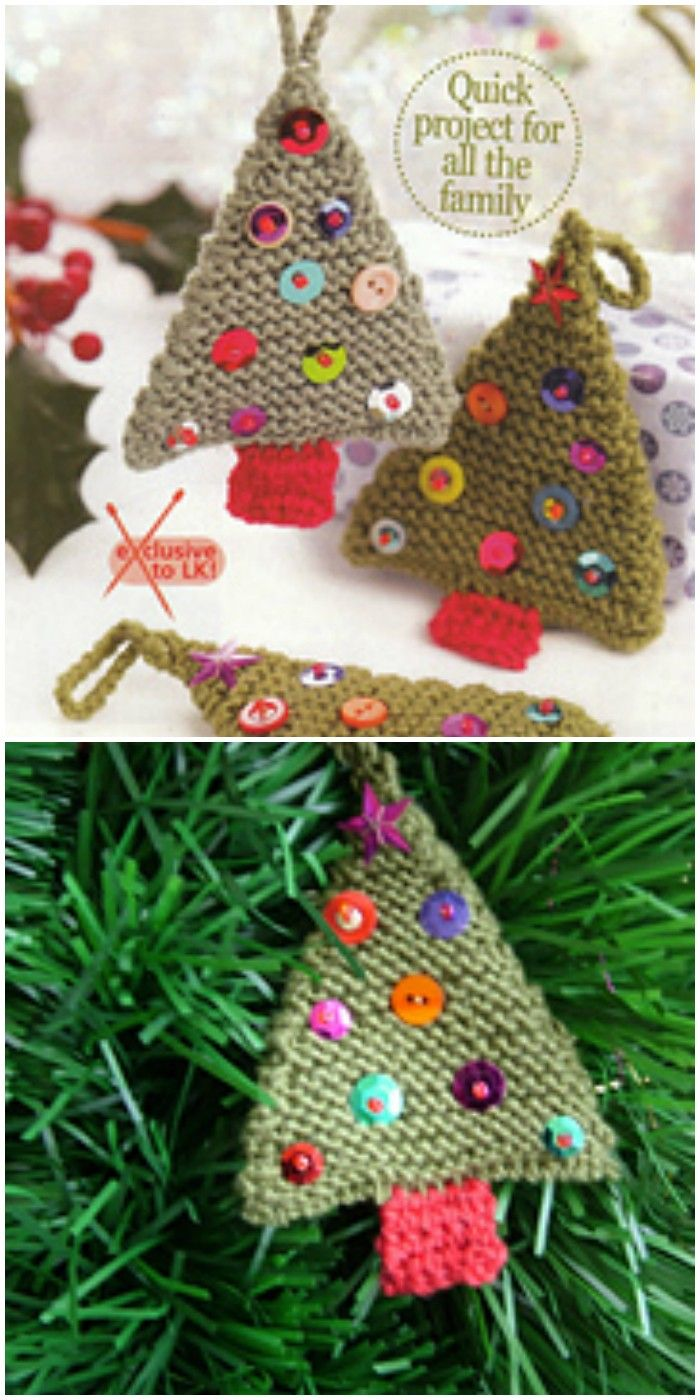 I Have Rounded Up 20 Free And Easy Knitting Patterns For Your Knitted Xmas Tree Christmas Knitting Knitting Patterns Free Christmas Crochet
