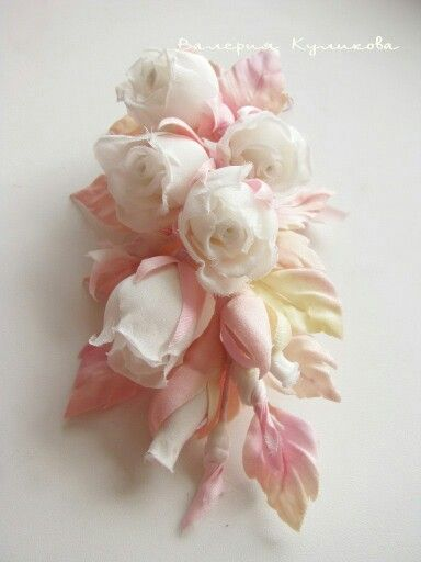 Valery Kulikova Silk flowers.