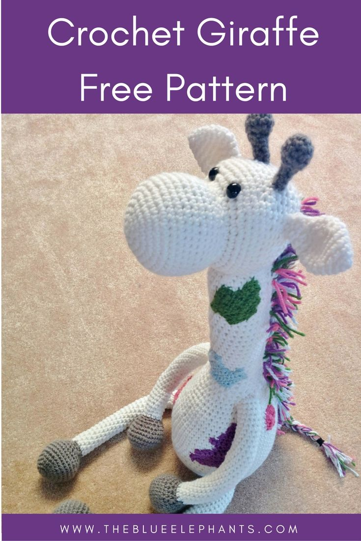 Crochet your own giant giraffe plushie with this full tutorial and pattern! Click through to read the post.