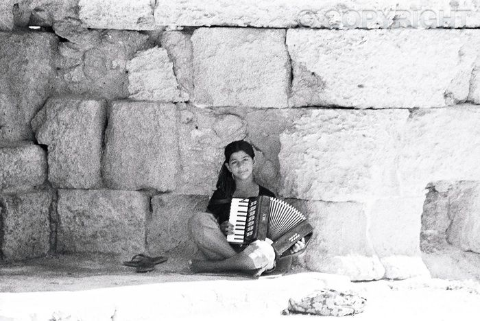 Romany Musician - Old Town, Rhodes