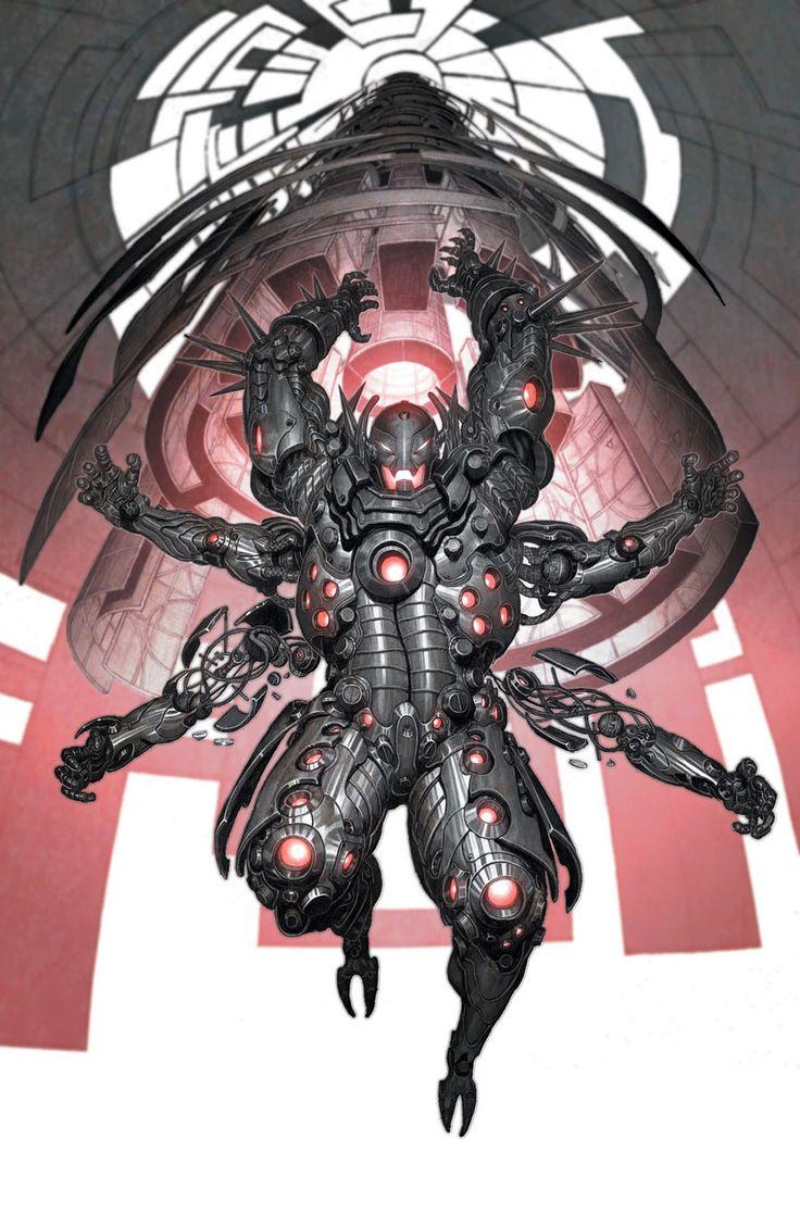 Ultron - Marvel comics↩☾それはすぐに私は行くべきである。 ∑(O_O;) ☕ upload is LG G5/2016.09.11 with ☯''地獄のテロリスト''☯ (о゚д゚о)♂