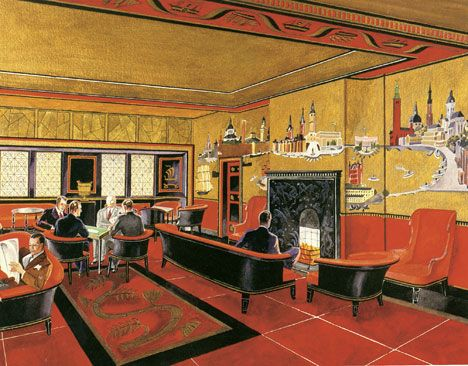 Im very much into 1920s interior design right now. Like this pic for inspiration!