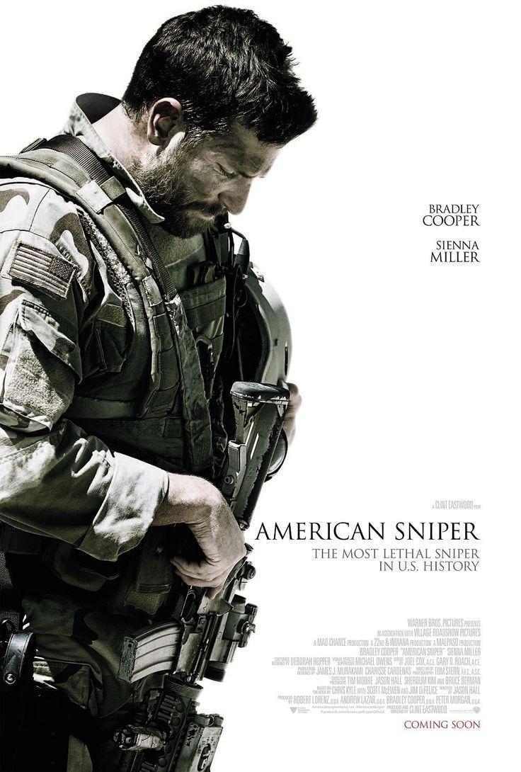 AMERICAN SNIPER. CLINT EASTWOOD. 2015 Traumatisme d'un sniper