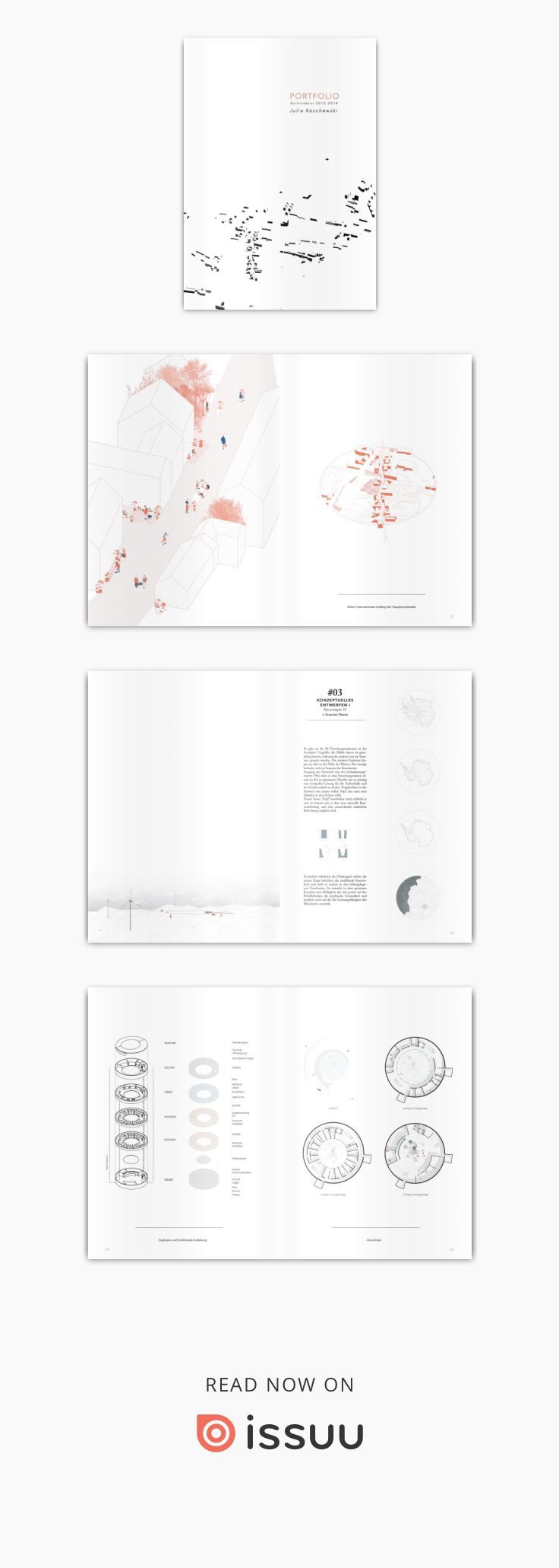 architektur portfolio 2018 von julia koschewski